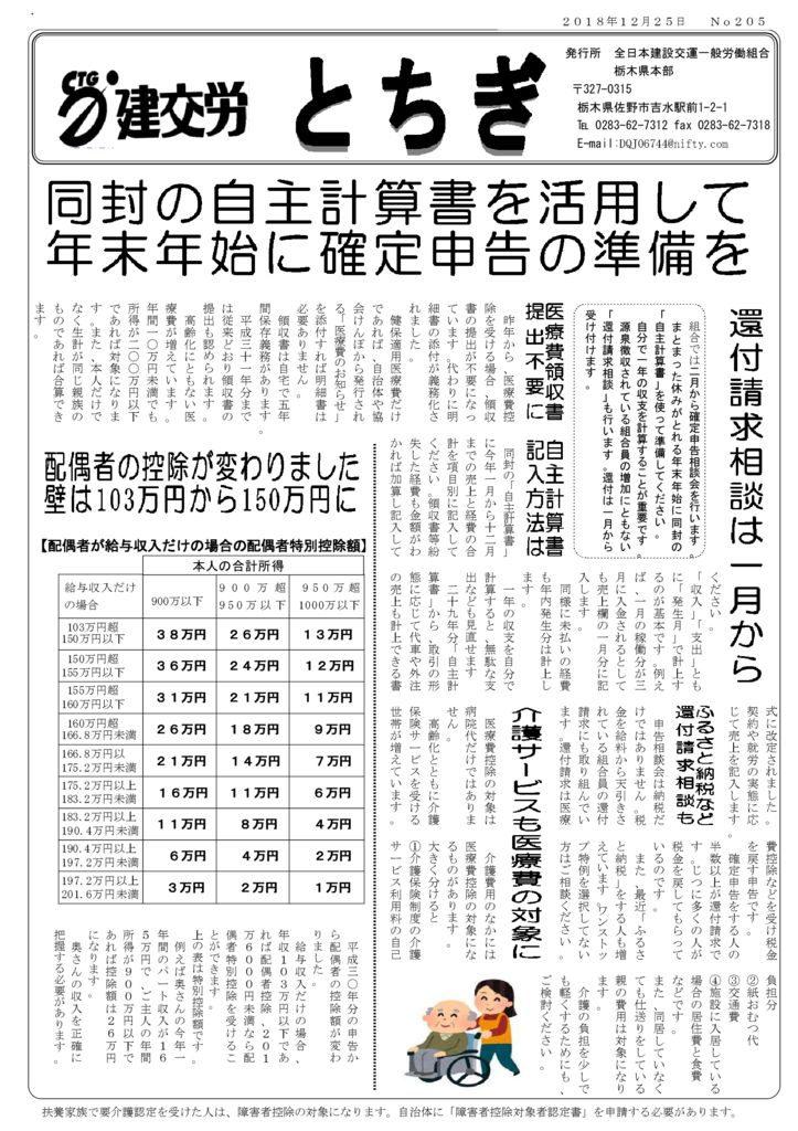 【栃木県本部】とちぎ No.205