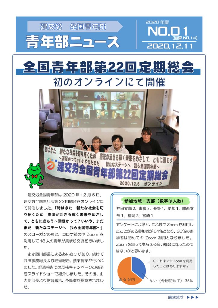 青年部ニュース 通算No.14